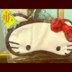Sanrio Hello kitty Sleeping cute Eye Mask new